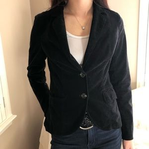 Anthropologie CHIC Black Blazer Jacket Coat